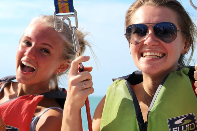 Parasail Englewood photo package